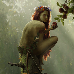 Young dryad