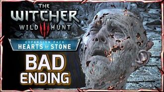 Witcher 3 HEARTS OF STONE - BAD ENDING ► Master Mirror Takes Olgierd's Soul & Rewards Geralt