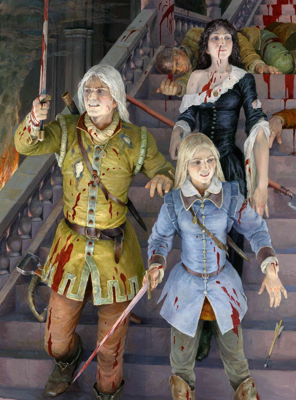 Assault on Stygga castle | Witcher Wiki | FANDOM powered by