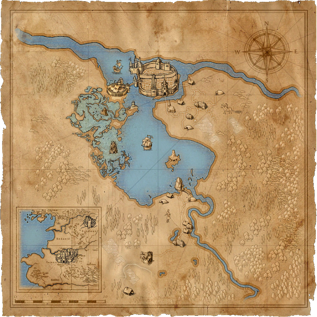 Image map temeriag witcher wiki fandom powered by wikia map temeriag gumiabroncs Choice Image