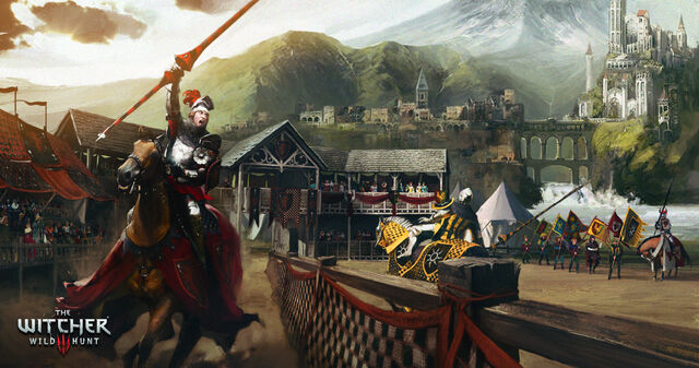 File:Tw3 Blood and Wine Tournament concept art.jpg