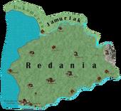 Redania map