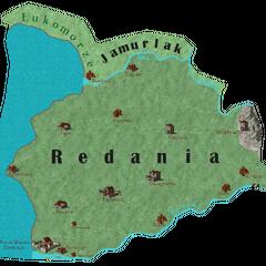 Карта Реданії