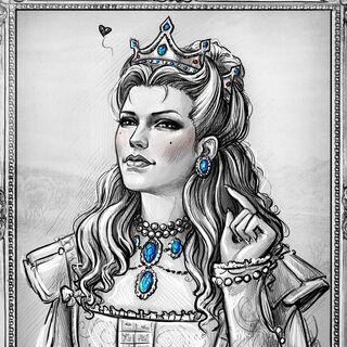 Анна-Генрієтта, арт у виконанні NastyaKulakovskaya