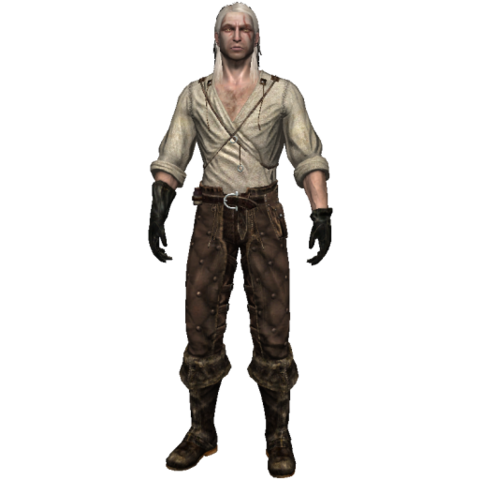 Geralt without armor