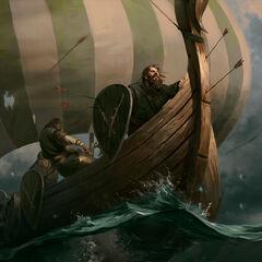 Clan Dimun warship