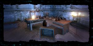 Places Kalksteins lab interior