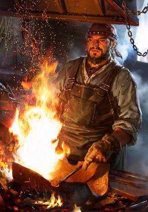 Gwent cardart syndicate coerced blacksmith