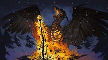 Gwent phoenix event art