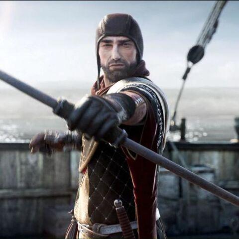 Тибальт з Венгенберґа у CGI до Enhanced Edition гри «Відьмак 2: Вбивці Королів»