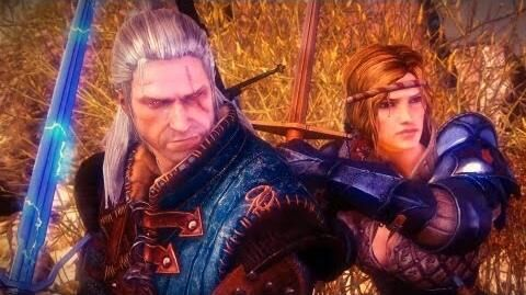Saskia and Prince Stennis Negotiate with King Henselt (Witcher 2 Prelude to War Aedirn)