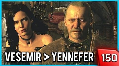 The Witcher 3 ► Vesemir Takes no shit from Yennefer 150 PC