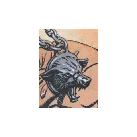 Medaillion from polish comics