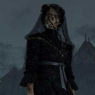 Iris as a ghost