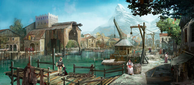 File:Tw3 Blood and Wine Port District concept art 3.jpg