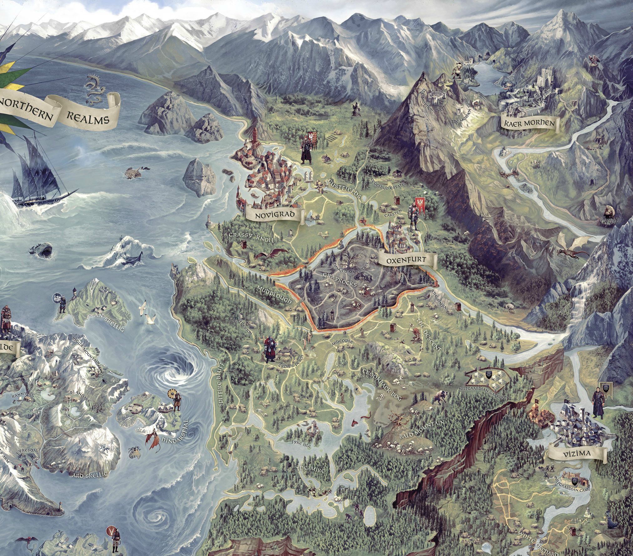 Witcher3ConceptMap
