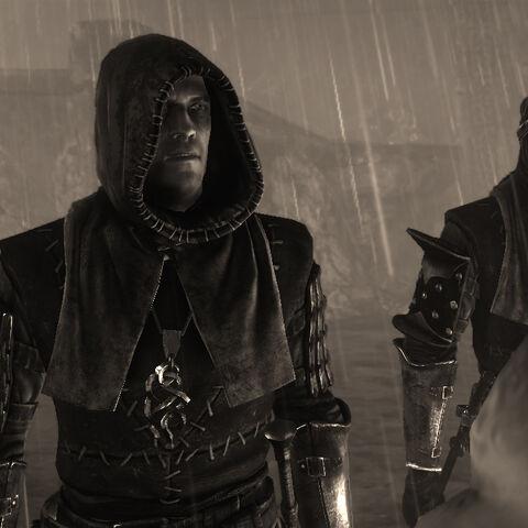 Auckes e Serrit nella visione di Geralt