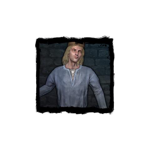 Portret w haśle