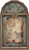 Decorative Painting framed document