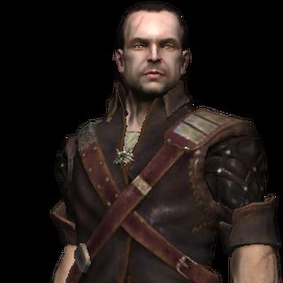 Ламберт, рендер з гри Відьмак