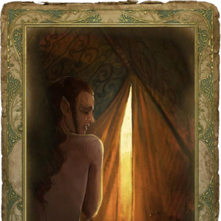 the sorceress' romance card<br />censored version is identical