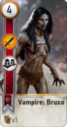 Tw3 gwent card face Vampire Bruxa