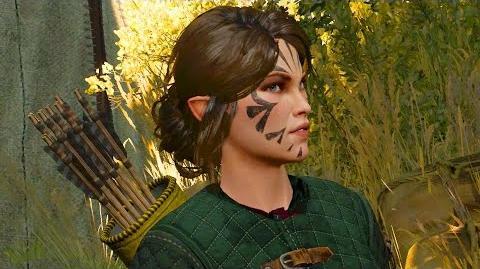 Vernossiel and Geralt- Woodland Beast Contract