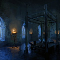 Concept painting of St. Lebioda's Hospital