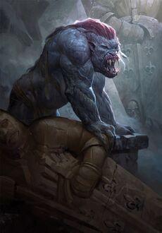 Gwent cardart monsters adda striga