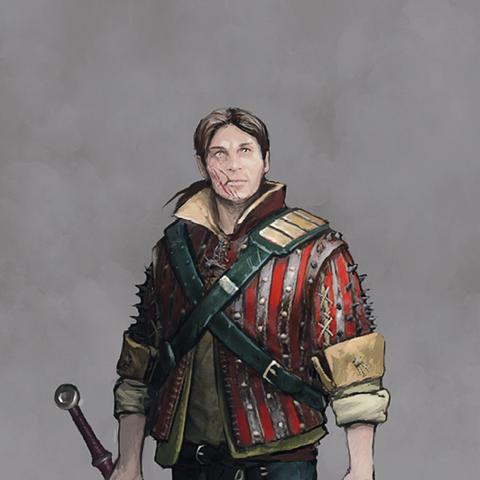 Ескель, концепт-арт до гри «Відьмак 3: Дикий Гін»