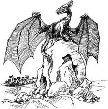 Скальный дракон