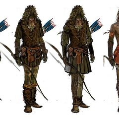Concept art for <i>The Witcher 2</i>
