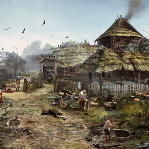 White Orchard inn concept art