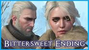 Witcher 3 - CIRI IS EMPRESS & Leaves Geralt - Bittersweet Sad Ending