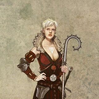Філіппа, концепт-арт до гри «Відьмак 2: Вбивці Королів»