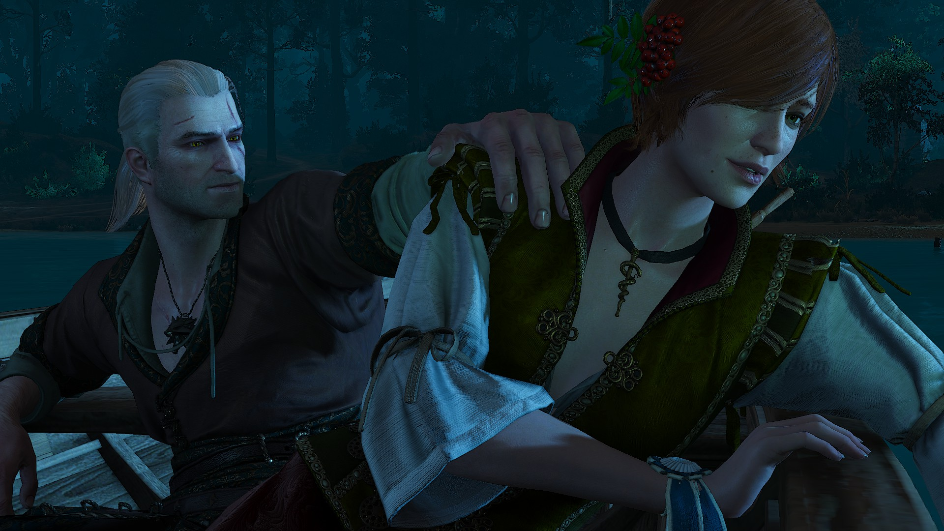 the witcher 3 yennefer sex