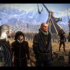 Geralt con <a href=