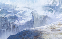 Loading Icy plains day