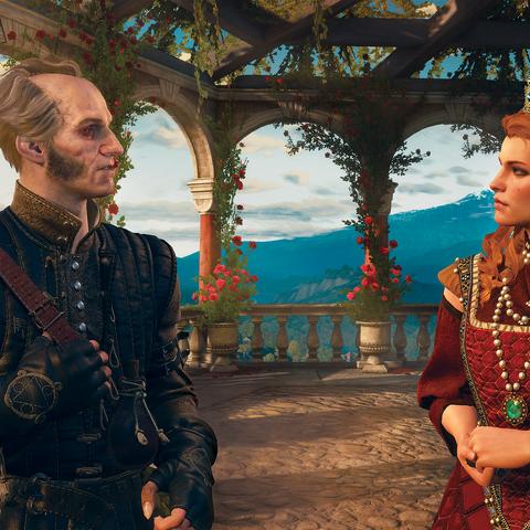 ريجيس وآنا هنرييتا في لقطة دعائية لتوسع دم ونبيذ
