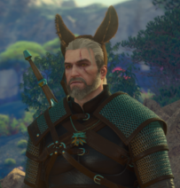 Tw3 ass ears on geralt