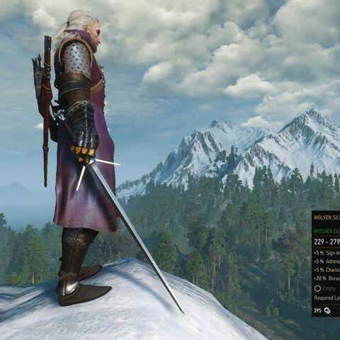 Wolven Silver Sword Witcher Wiki Fandom Powered By Wikia