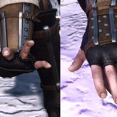 casting gesture in <i>The Witcher 3</i>