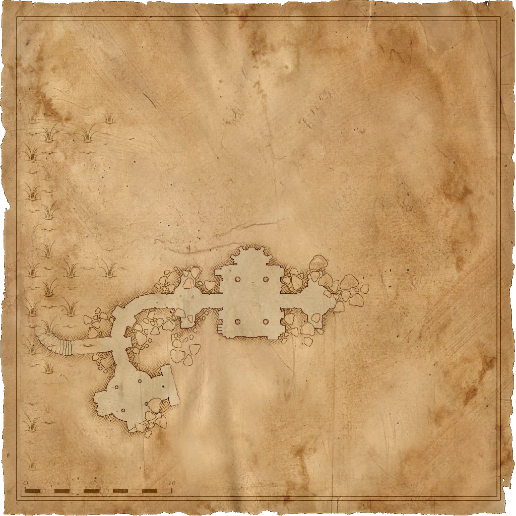 Map Kaer Morhen Witcher Laboratory