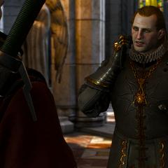 Морвран Ворхіс в королівському палаці Визіми