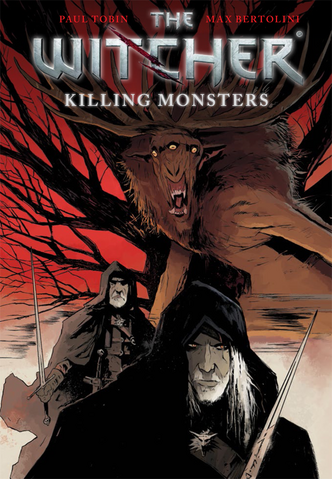 File:The Witcher cover killing monsters comic.png