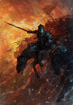 Gwent cardart monsters red riders