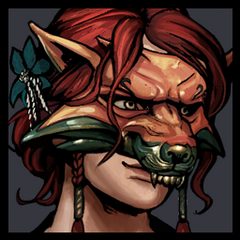 Triss Fox Mask Avatar in