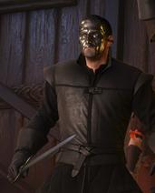 Tw3 emhyr mask worn