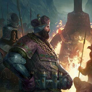Король Генсельт страчує Сабріну Ґлевіссіг
