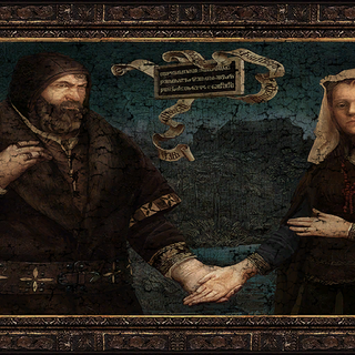 Painting of the Baron and Anna in <i>The Witcher 3</i>